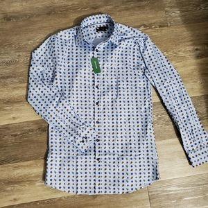 Simon's Men's Dress Shirt